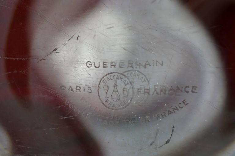 Große Vintage Parfüm Flasche, Guerlain Baccarat 7