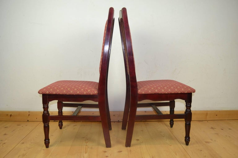 Fabric Set of 50 Dining Chairs, Late 20th Century For Sale