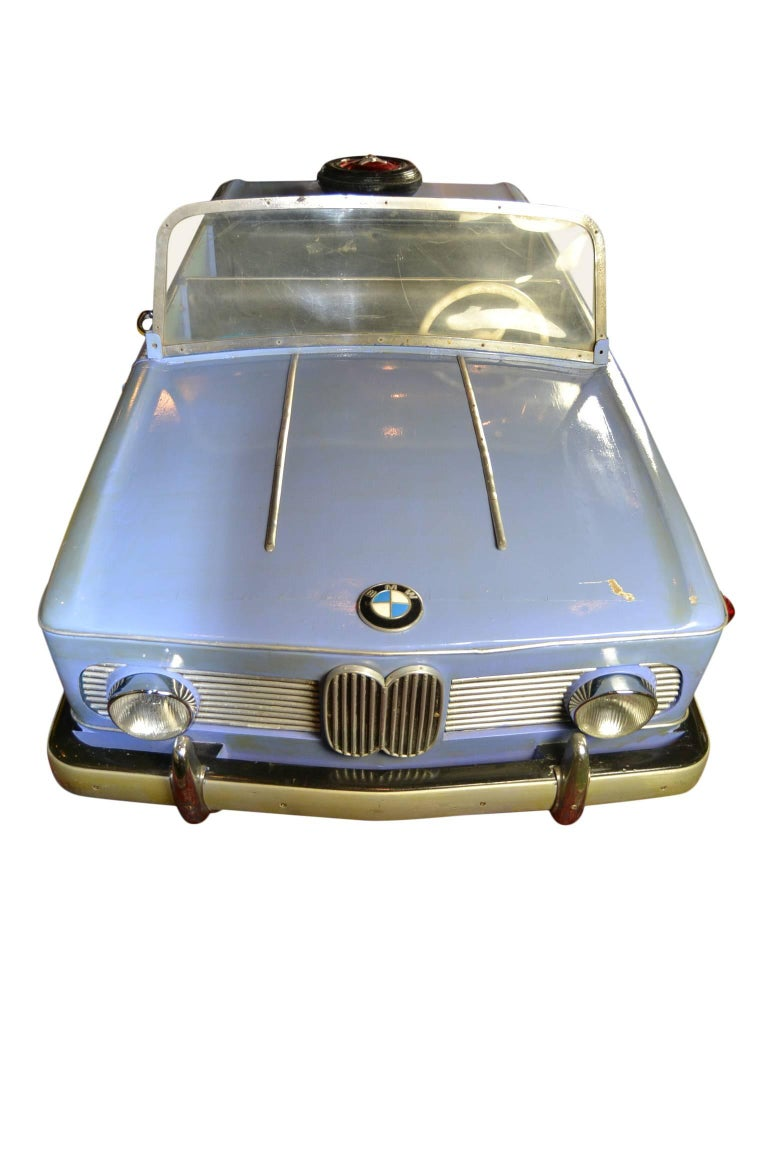 Wood 1960s Carousel BMW 1500 Car by Hennecke Germany For Sale