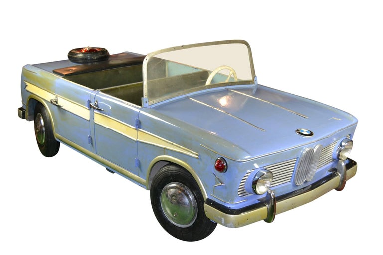Mid-Century Modern 1960s Carousel BMW 1500 Car by Hennecke Germany For Sale
