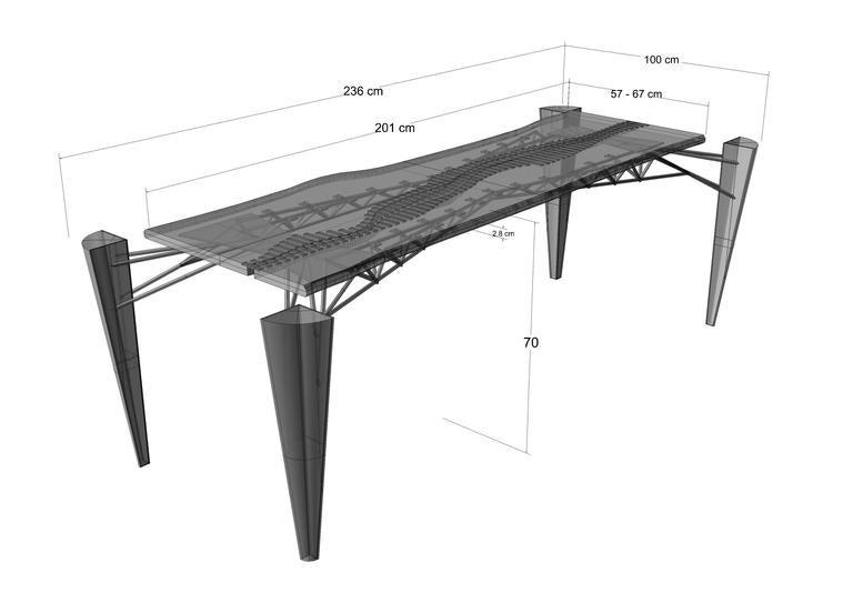 Mahakam Table One of a Kind 9