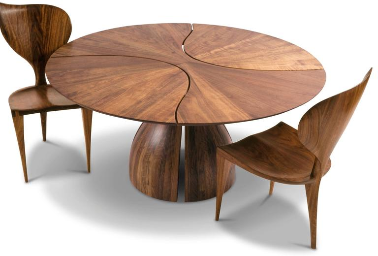 """Lily Pad I"" Dining Table, Designed 1980 2"