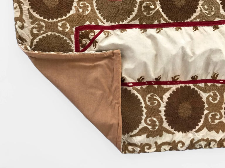 Oversized Animal Floor Pillows : Oversized Vintage Suzani Floor or Pet Pillow For Sale at 1stdibs