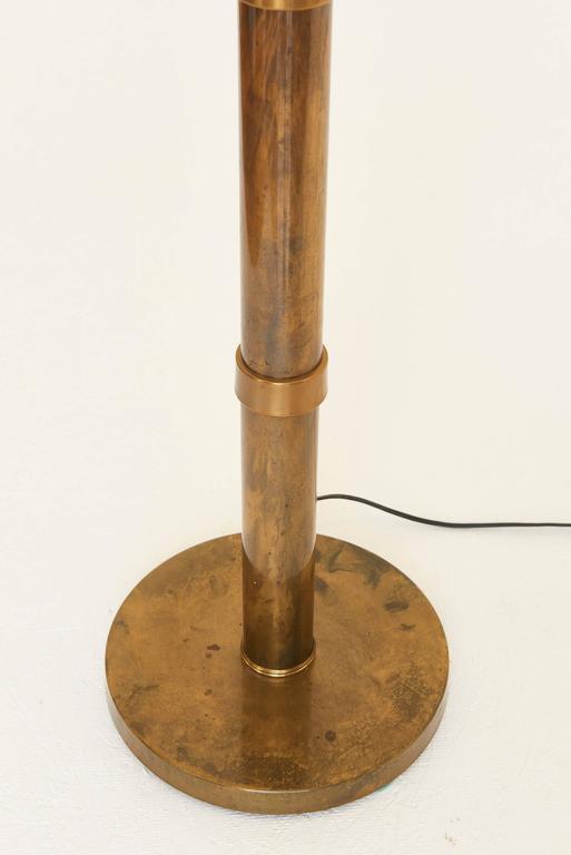 Brass \'Bamboo\' Floor Lamp, style of Mastercraft, 1970s at 1stdibs