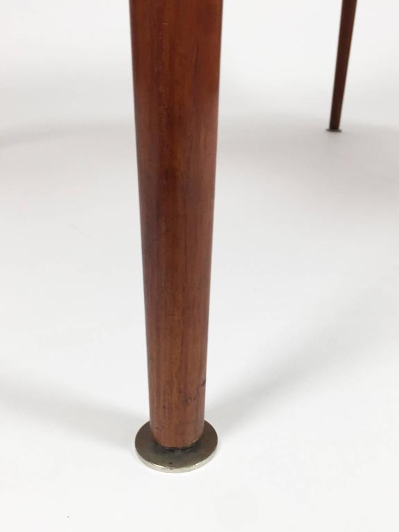 Vintage Adjustable Danish Elevator Table With Extending
