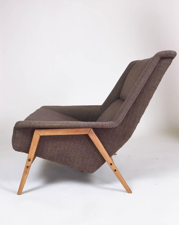 Vintage Scandinavian Modern Lounge Chair By Folke Ohlsson For DUX, 1960s 3