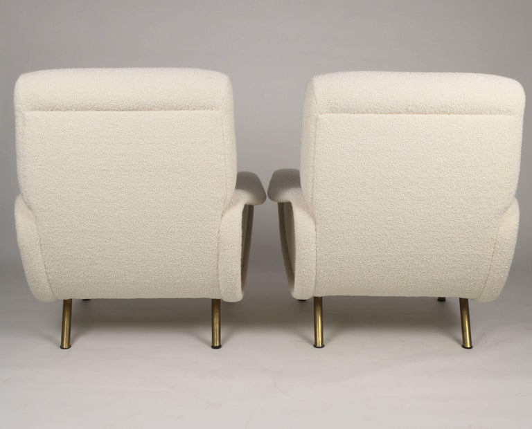 Marco Zanuso 'Lady' Chairs, Early Arflex Edition, circa 1951 For Sale 1