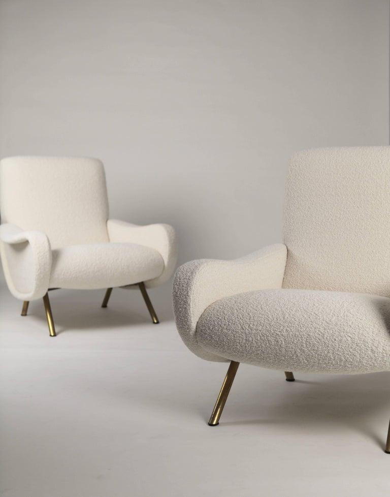 Marco Zanuso 'Lady' Chairs, Early Arflex Edition, circa 1951 For Sale 2