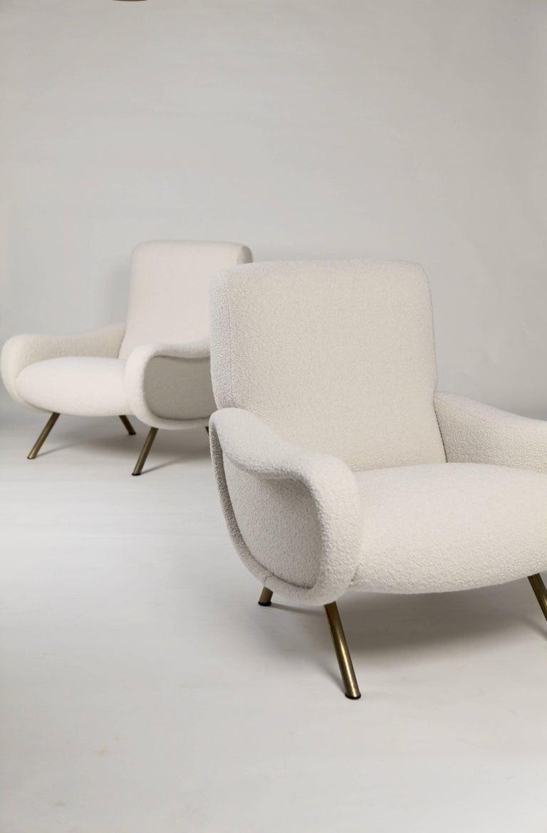 Marco Zanuso 'Lady' Chairs, Early Arflex Edition, circa 1951 2
