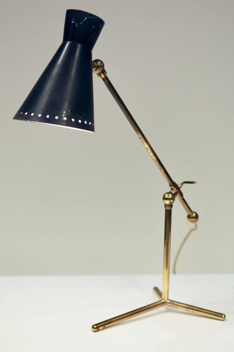 Desk or table lamp by Stilnovo, Italy 1950s