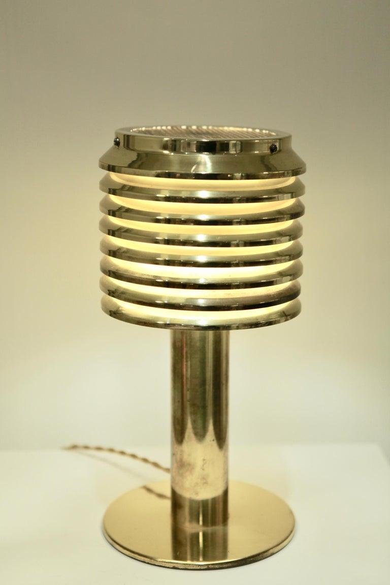 Hans-Agne Jakobsson, Table Lamp in Brass, Model B 142, Sweden 1960s In Good Condition For Sale In Hamburg, Hamburg
