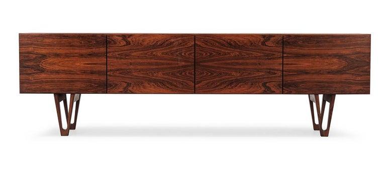 Mid-Century Modern Ib Kofod-Larsen Rare 'Trol' Sideboard, Sweden, 1958 For Sale