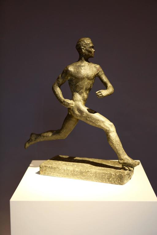 Wäinö Aaltonen, Athletic Sculpture, Finland, 1950s In Excellent Condition For Sale In Hamburg, Hamburg