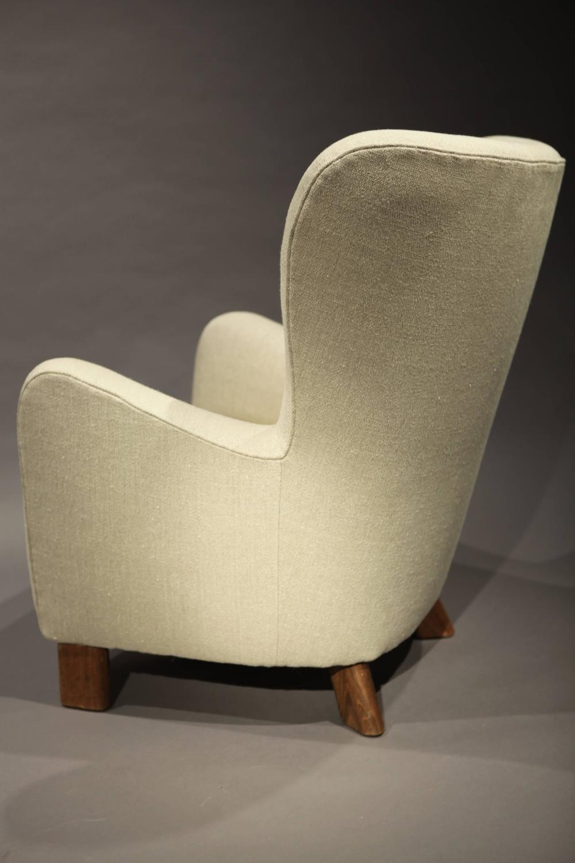 Fritz Hansen High Back Lounge Chair at 1stdibs