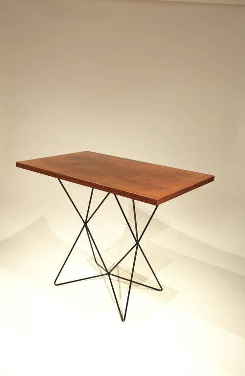 Painted Coffee Table by Bengt Johan Gullberg For Sale