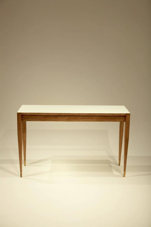 Italian Gio Ponti A Pair of Console Tables For Sale