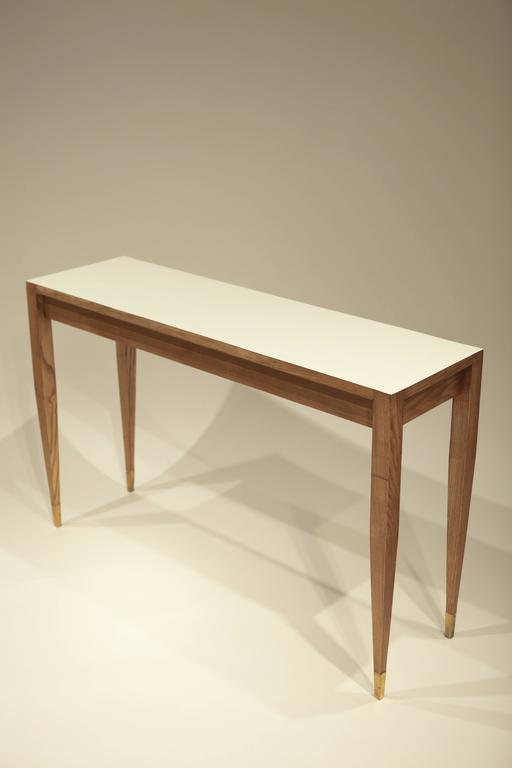 Gio Ponti A Pair of Console Tables In Good Condition For Sale In Hamburg, Hamburg