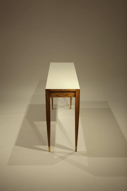 Gio Ponti A Pair of Console Tables For Sale 2