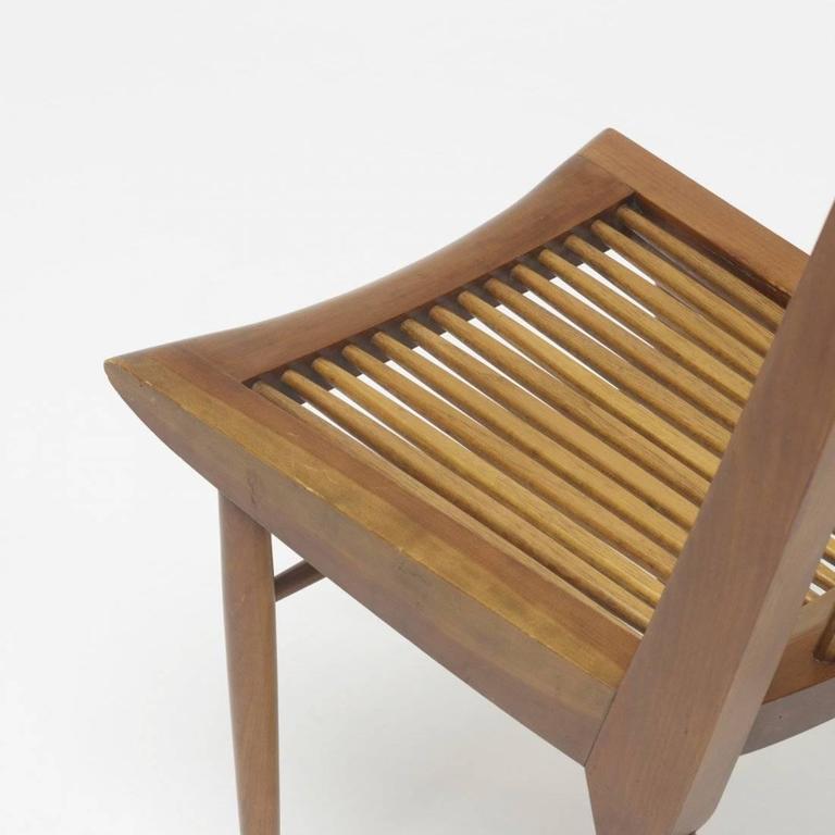 George Nakashima Dining Chairs, USA, 1950s 4