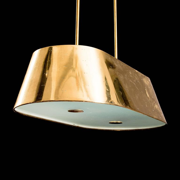 Finnish Paavo Tynell Large Ceiling Light For Sale