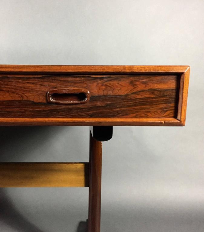 Exceptional Norwegian Rosewood Desk, 1960s For Maurice Villency, New York 2