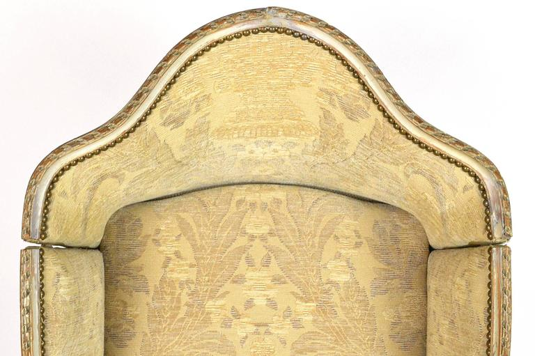 19th Century Louis XVI Style Hooded Butleru0027s Chair 2