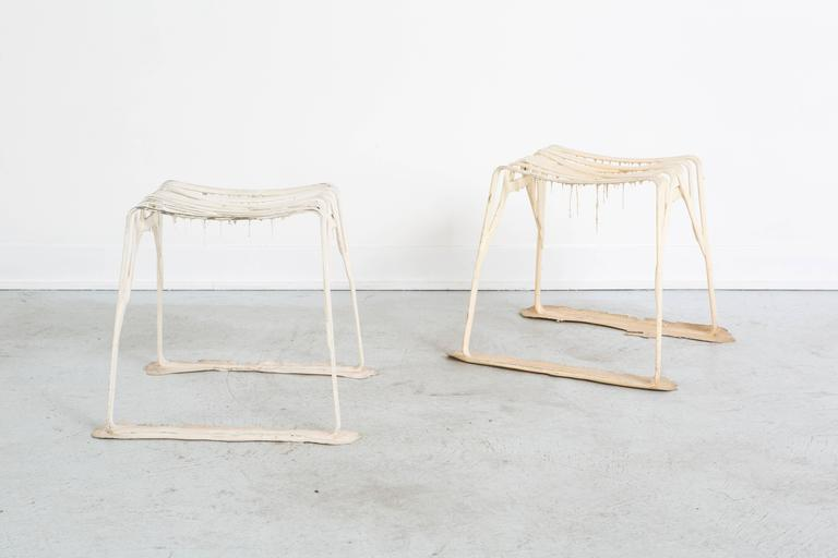 Pair Of Strass Stools By Michelle Ivankovic At 1stdibs