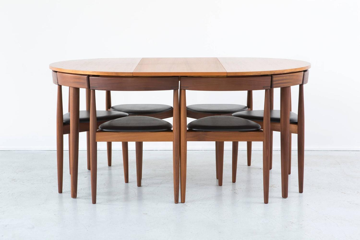 mid century modern danish hans olsen dining set at 1stdibs