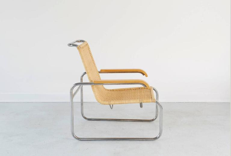 Marcel breuer b35 lounge chairs at 1stdibs for Breuer chaise lounge
