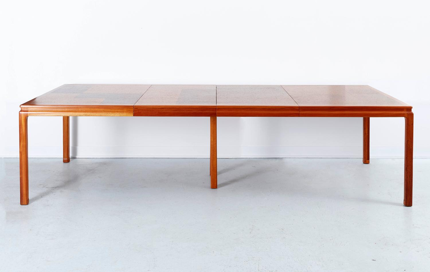dining room furniture cork | Cork Dining Table by Edward Wormley for Dunbar For Sale at ...