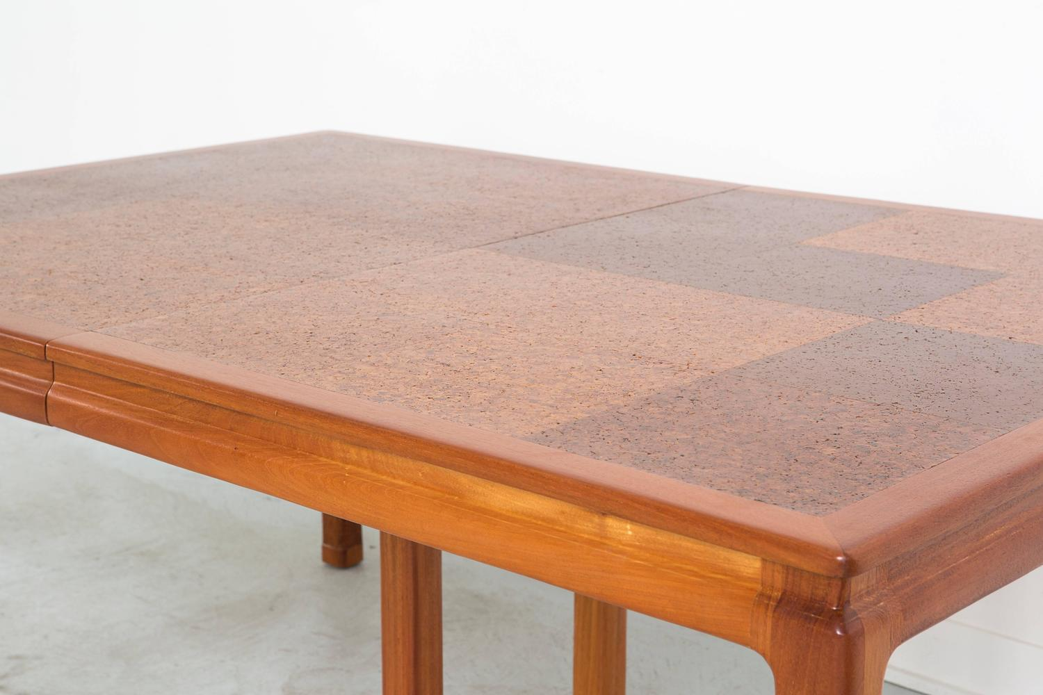 Cork Dining Table By Edward Wormley For Dunbar For Sale At