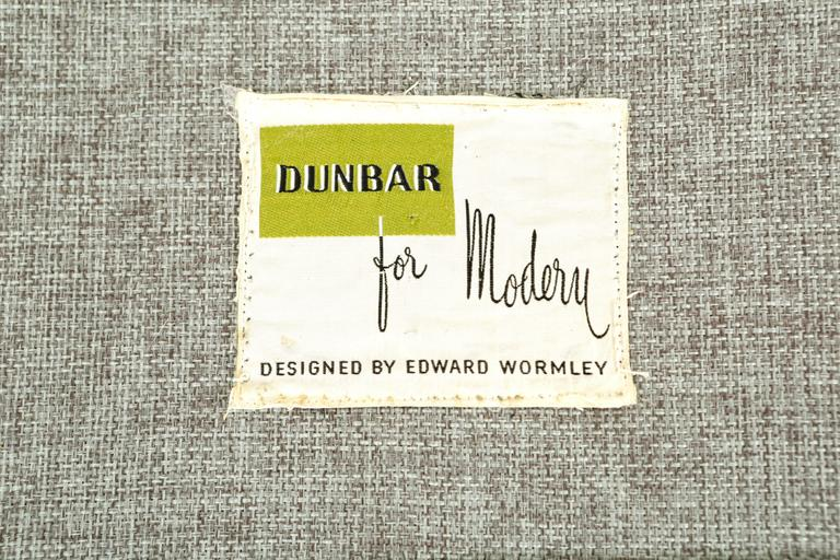 Dunbar Sofa by Edward Wormley Newly Reupholstered In Excellent Condition For Sale In Chicago, IL