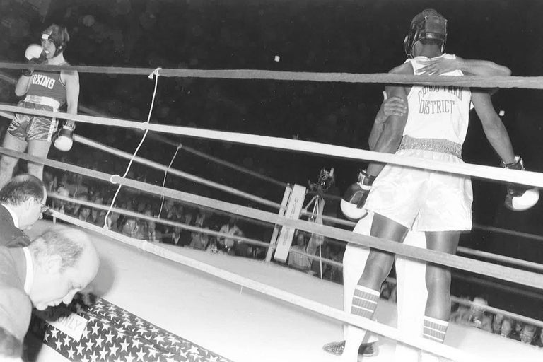 Late 20th Century 67 Vintage Chicago Boxing Photos, circa 1980s For Sale