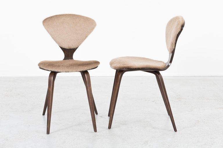 American Set of 8 Mid-Century Modern Norman Cherner for Plycraft Dining Chairs For Sale