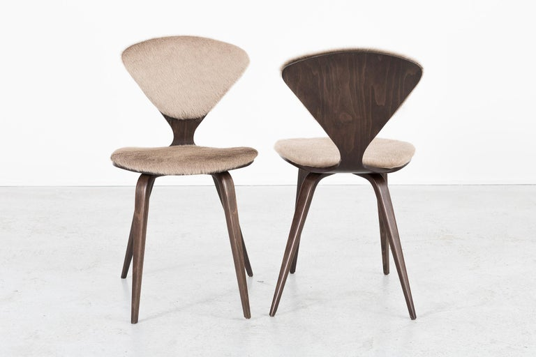 Set of 8 Mid-Century Modern Norman Cherner for Plycraft Dining Chairs In Excellent Condition For Sale In Chicago, IL