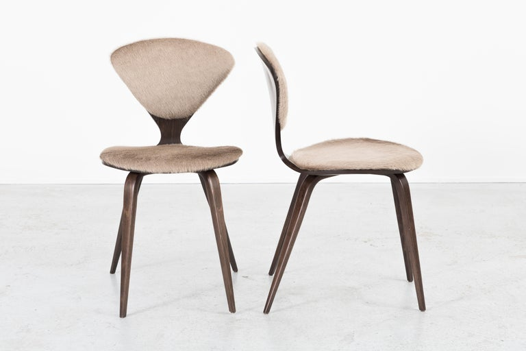 Mid-20th Century Set of 8 Mid-Century Modern Norman Cherner for Plycraft Dining Chairs For Sale