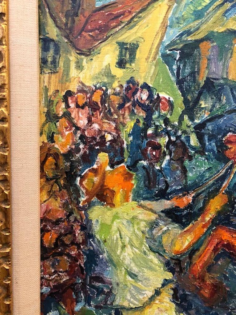 Painting by Chaim Goldberg For Sale 2