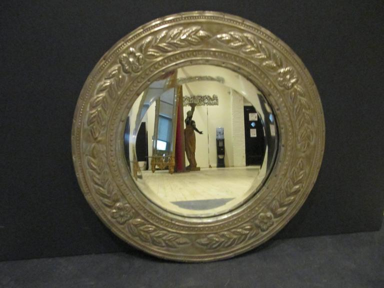 Round Metal Clad Mirror 3