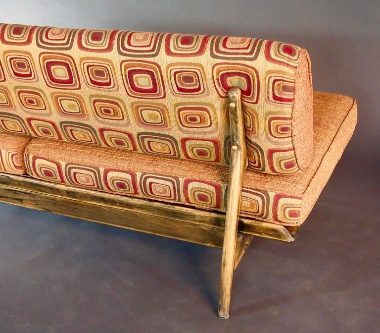 Mid Century Slipper Sofa For Sale at 1stdibs