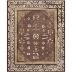 Early 20th Century Samarkand Khotan Rug