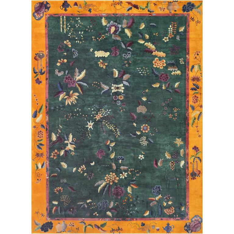 Early 20th Century Chinese Rug For Sale At 1stdibs