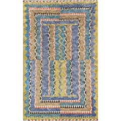 Early 20th Century Marta Maas-Fjetterström Swedish Deco Rug