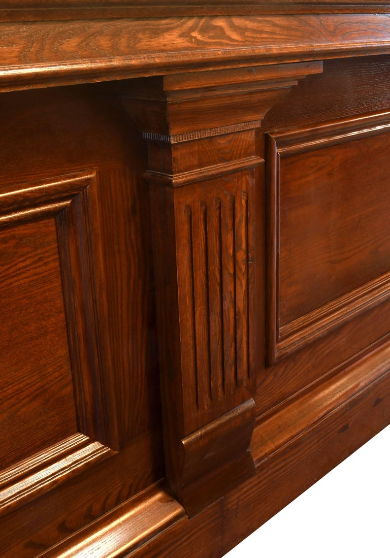 This Gorgeous Brunswick Front And Back Bar Is In Incredible Condition Given Its Age On