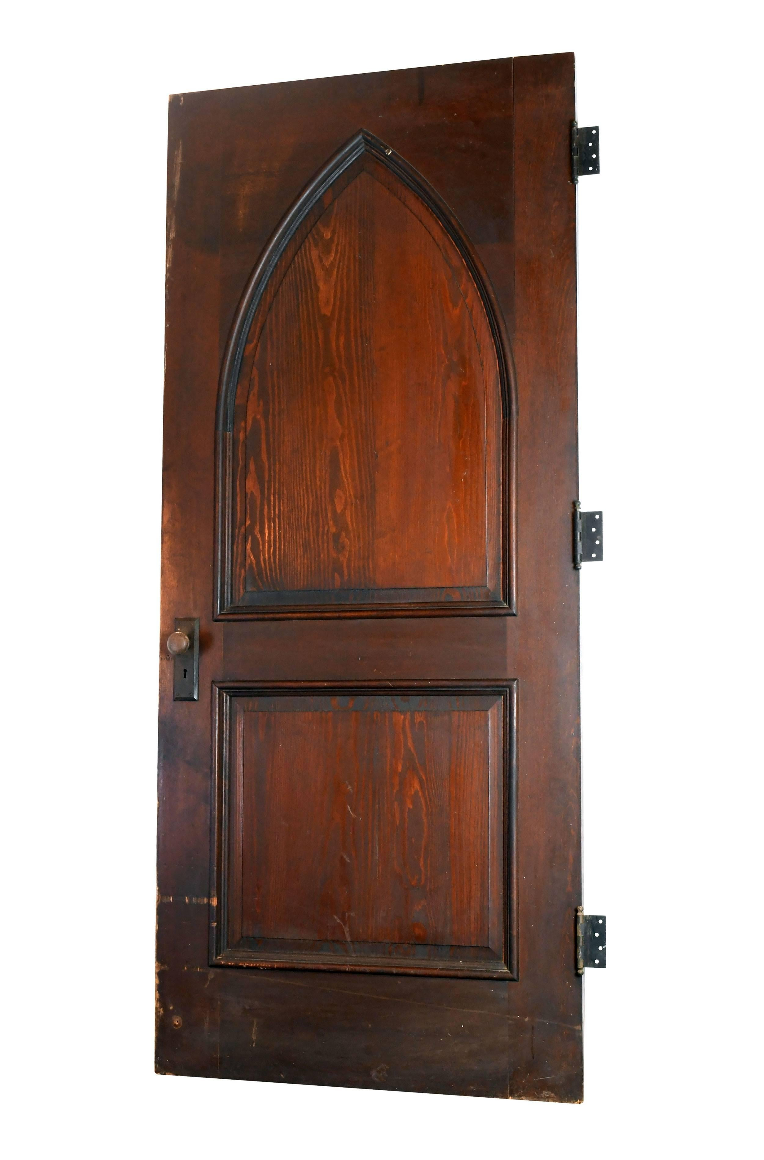 sc 1 st  1stDibs & Gothic Oak Arched Door For Sale at 1stdibs