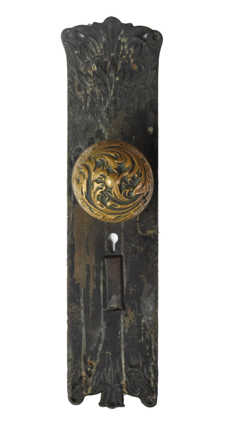Cast Brass Corbin Florence Door Hardware Set For Sale At 1stdibs