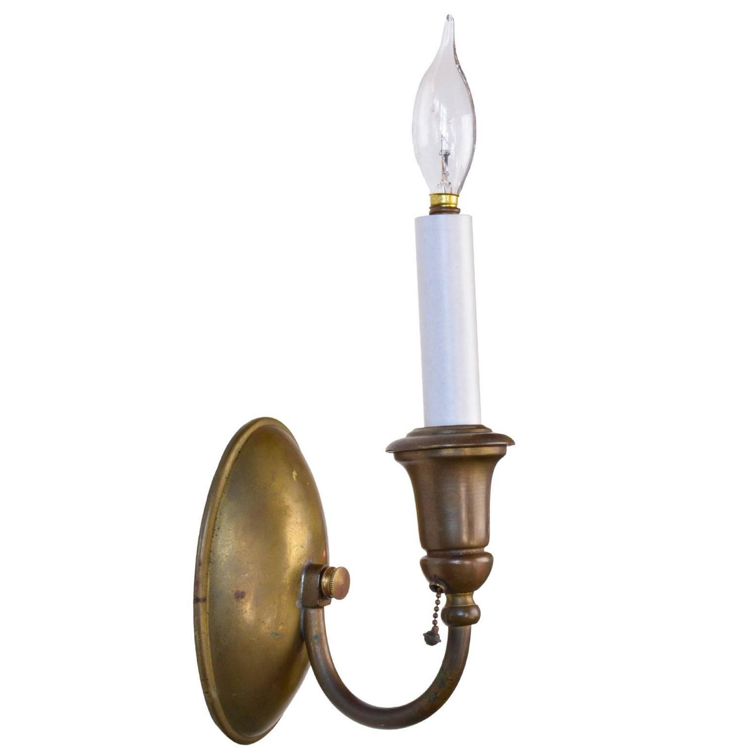 Bradley and Hubbard Colonial Sconce Suite at 1stdibs