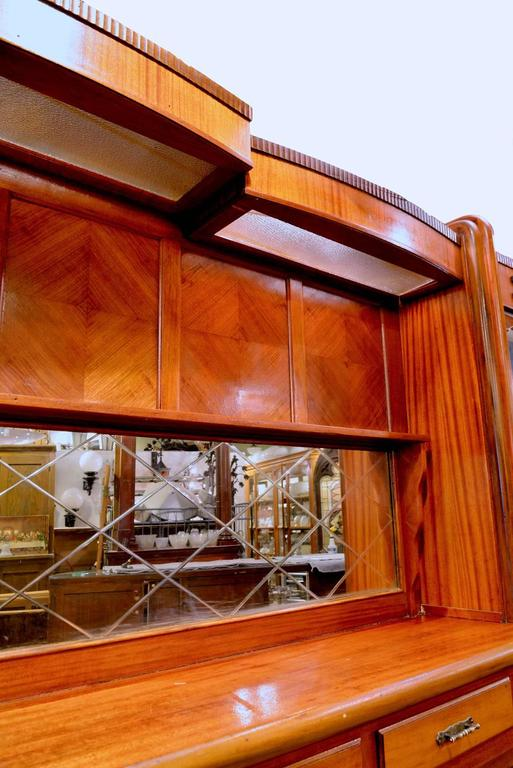 Original 1920s Mahogany Art Deco Front And Back Bar At 1stdibs