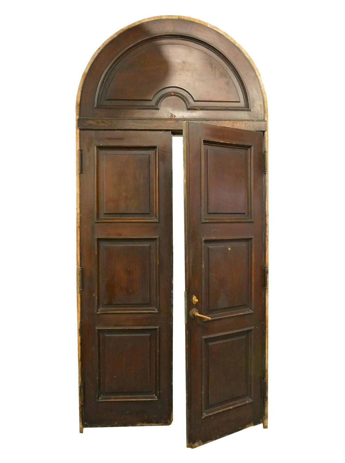 Wonderful Arched Exterior Door Unit For Sale At 1stdibs