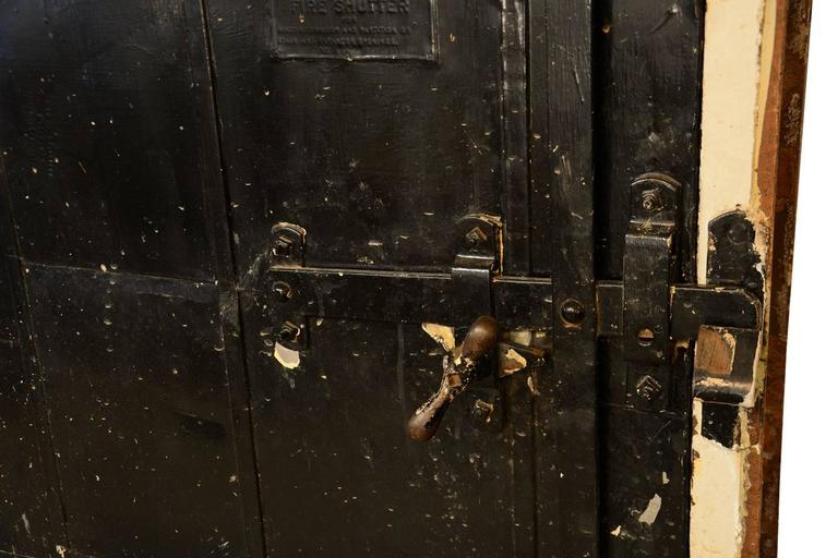 Metal-Clad 1920s Fire Door with Frame 3 & Authentic Stremel Bros. Metal-Clad 1920s Fire Door with Frame at ... Pezcame.Com