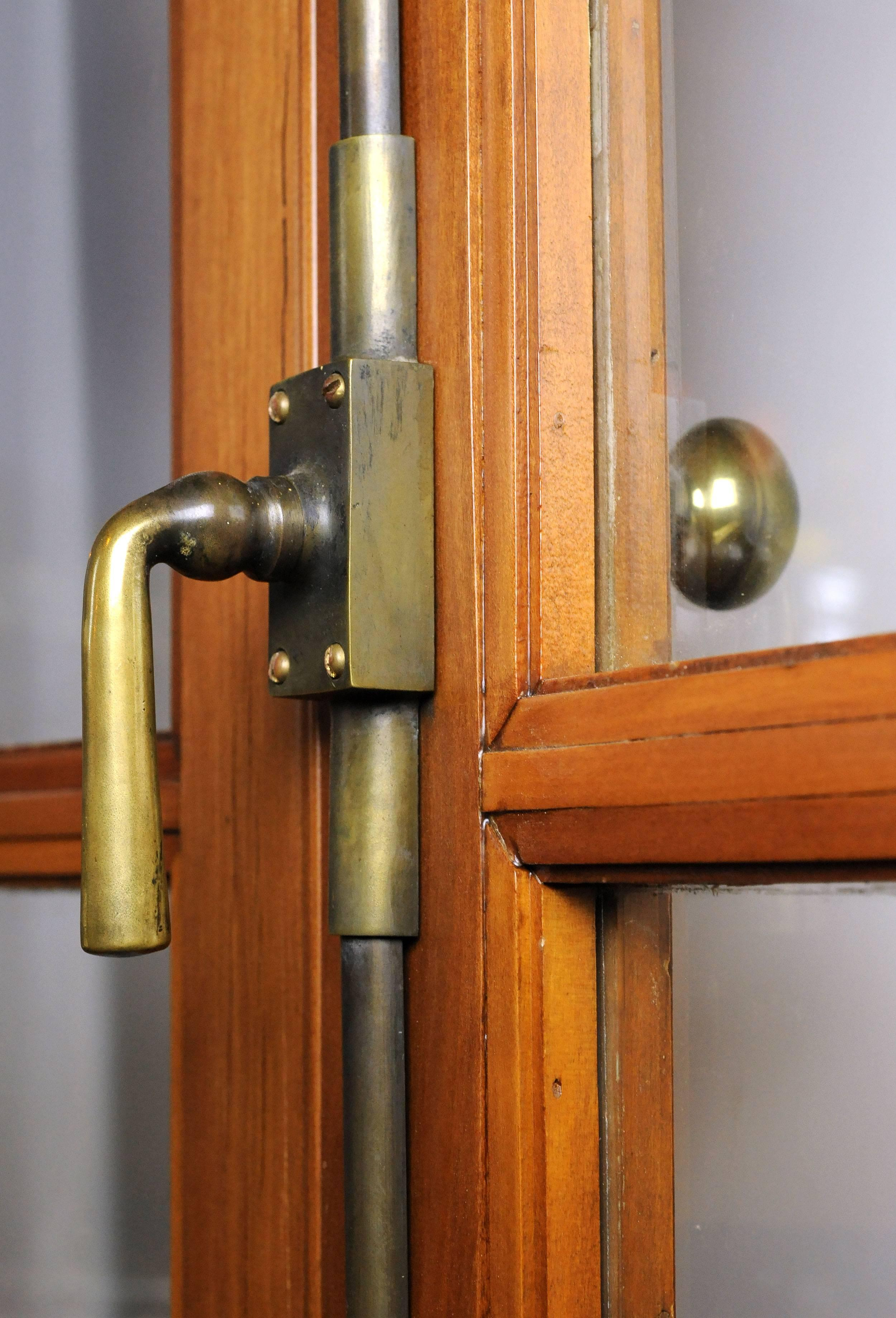 & French Doors with Cremone Bolt and Jamb For Sale at 1stdibs